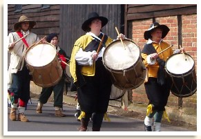 Rawdon's Drum - on the March